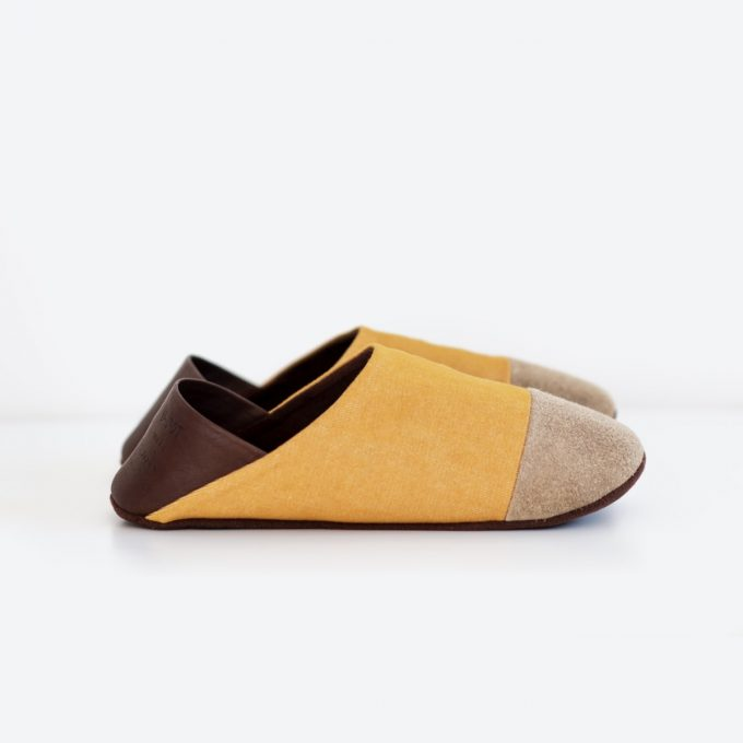Udot Slippers Mustard