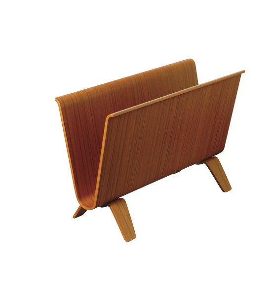 Saito magazine holder teak